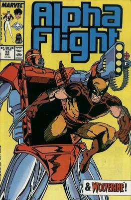 Alpha Flight vol. 1 (1983-1994) (Comic Book) #53