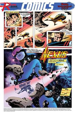 Nexus: The Comic Strip (Grapa) #1