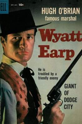 Hugh O'Brian Famous Marshal Wyatt Earp (Comic Book) #4