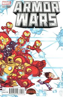 Armor Wars (Variant Cover) (Comic Book) #1.5