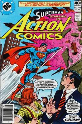 Action Comics Vol. 1 (1938-2011; 2016-) (Comic Book) #498