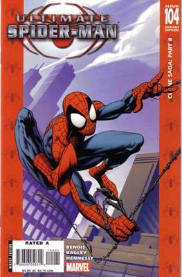 Ultimate Spider-Man (2000-2009 Variant Cover) #104
