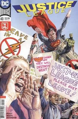Justice League (2016-...Variant Covers) (Grapa) #40