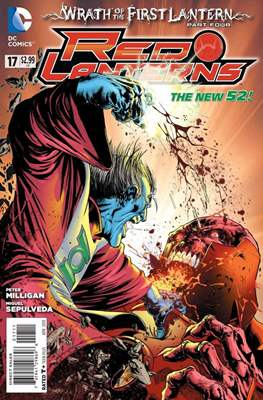 Red Lanterns (2011 - 2015) New 52 #17