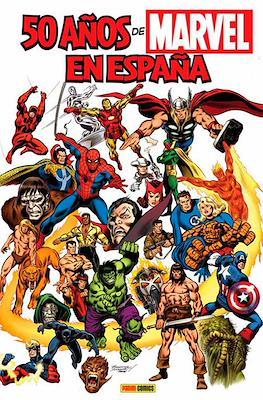 50 años de Marvel en España (Cartoné 144 pp) #