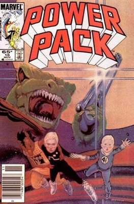 Power Pack (1984-1991; 2017) (Grapa) #16