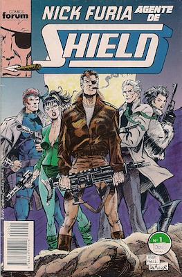 Nick Furia, Agente de SHIELD vol. 1 (1990-1991) (Grapa. 17x26. 32 páginas. Color. (1990).) #1