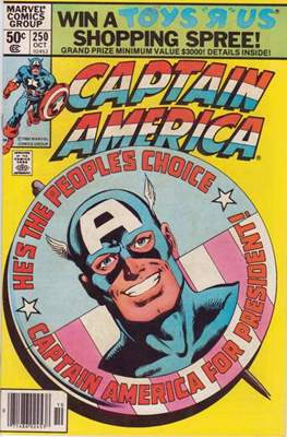 Captain America Vol. 1 (1968-1996) (Comic Book) #250