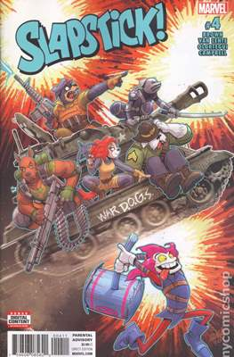Slapstick Vol. 2 (Comic-book) #4