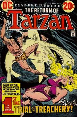 Tarzan (Comic-book) #219