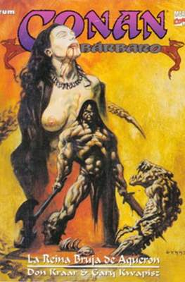 Conan el Bárbaro. Novelas graficas (Rústica 48-64 pp) #9