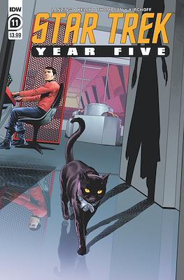 Star Trek: Year Five (Comic Book) #11