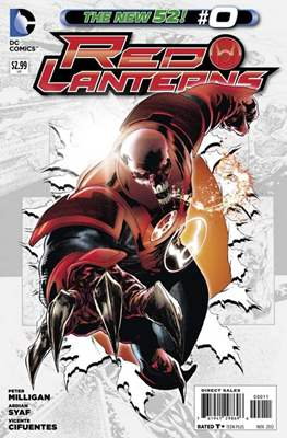 Red Lanterns (2011 - 2015) New 52 #0