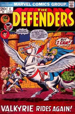The Defenders vol.1 (1972-1986) (Grapa, 32 págs.) #4