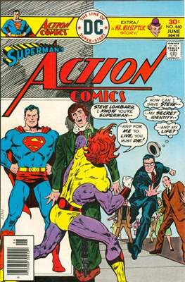 Action Comics Vol. 1 (1938-2011; 2016-) (Comic Book) #460