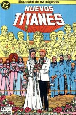 Nuevos Titanes Vol. 1 (1984-1988) (Grapa 40 pp) #41