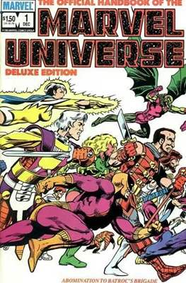 Official Handbook of the Marvel Universe Vol 2 (Handbook) #1