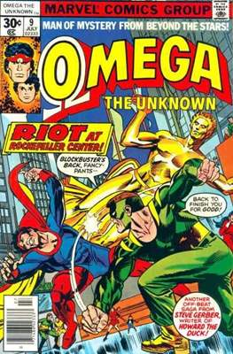 Omega The Unknown (Comic Book. 1976 - 1977) #9