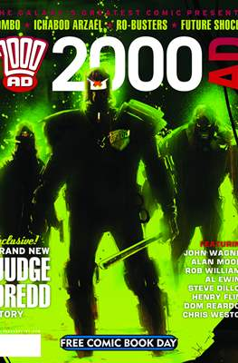 2000 AD - Free Comic Book Day (2012)