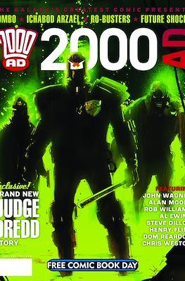 2000 AD - Free Comic Book Day (2012)