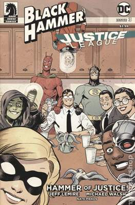 Black Hammer / Justice League: Hammer of Justice (Variant Cover) (Comic Book) #3.3