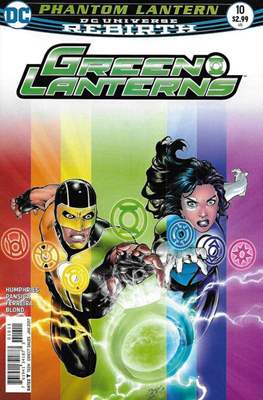 Green Lanterns Vol. 1 (2016-2018) (Comic-book) #10