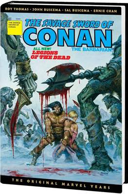 The Savage Sword of Conan - Omnibus. The Original Marvel Years (Variant Cover) (Hardcover 776 pp) #3