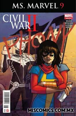 Ms. Marvel (2016-2017) #9