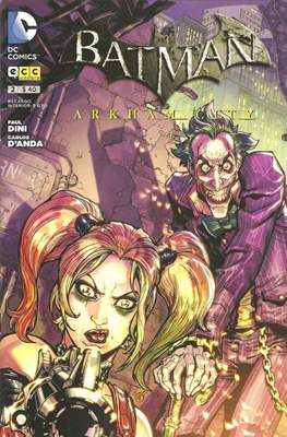 Batman: Arkham city (Grapa) #2