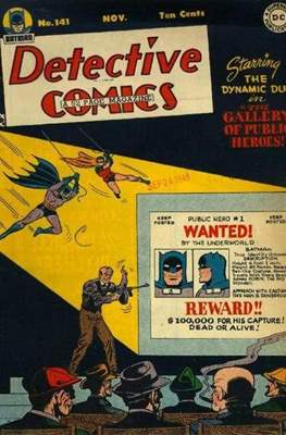 Detective Comics Vol. 1 (1937-2011; 2016-) (Comic Book) #141