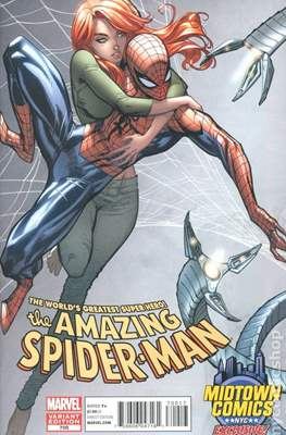 The Amazing Spider-Man (Vol. 2 1999-2014 Variant Covers) (Grapa) #700L