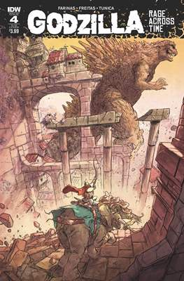 Godzilla Rage Across Time (Grapa 32 páginas - Color) #4.1