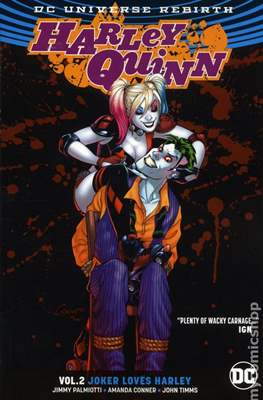 Harley Quinn (2016-2018) (Softcover 144-192 pp) #2