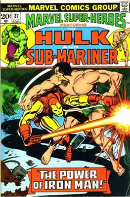 Marvel Super-Heroes (Grapa) #37