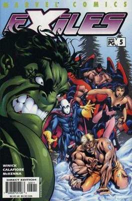 Exiles Vol. 1 (2001-2008) (Comic Book) #5