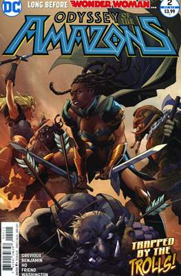 Odyssey Of The Amazons (Comic-book) #2