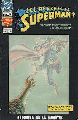¿El regreso de Superman?
