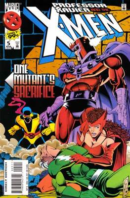 Professor Xavier and the X-Men (Comic Book) #5