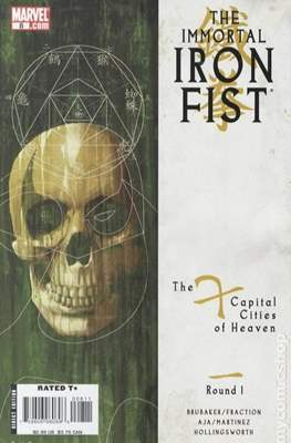 The Immortal Iron Fist (2007-2009) (Comic Book) #8