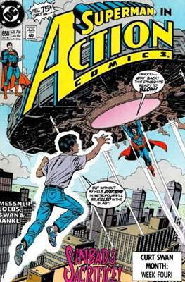 Action Comics Vol. 1 (1938-2011; 2016-) (Comic Book) #658
