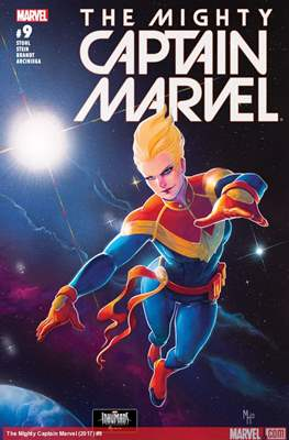 The Mighty Captain Marvel (2017-) #9