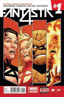 Fantastic Four Vol. 5 (Comic Book) #1