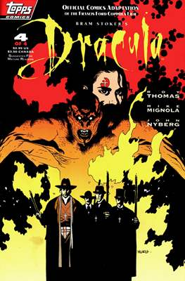 Bram Stoker's Dracula. Official Comics adaptation of the Francis Ford Coppola film #4