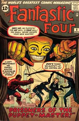 Fantastic Four Vol. 1 (1961-1996) #8