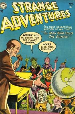 Strange Adventures (Comic Book) #47