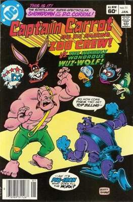 Captain Carrot and His Amazing Zoo Crew #11