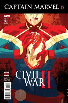 Captain Marvel Vol. 9 (2016) (Comic-Book) #6