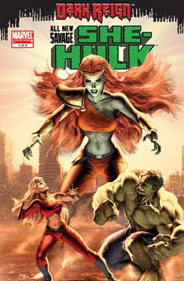 All New Savage She-Hulk - Dark Reign #1