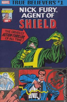 True Believers Kirby 100th Nick Fury, Agent of S.H.I.E.L.D.