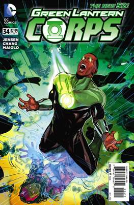 Green Lantern Corps Vol. 3 (2011-2015) #34